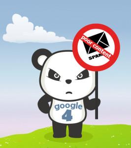 Stop Spam con Panda 4.0